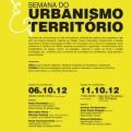 Semana urbanimso e o terrritoiro